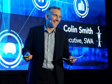 Colin Smith, chief executive, SWA
