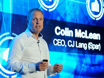 Colin McLean, chief executive, CJ Lang
